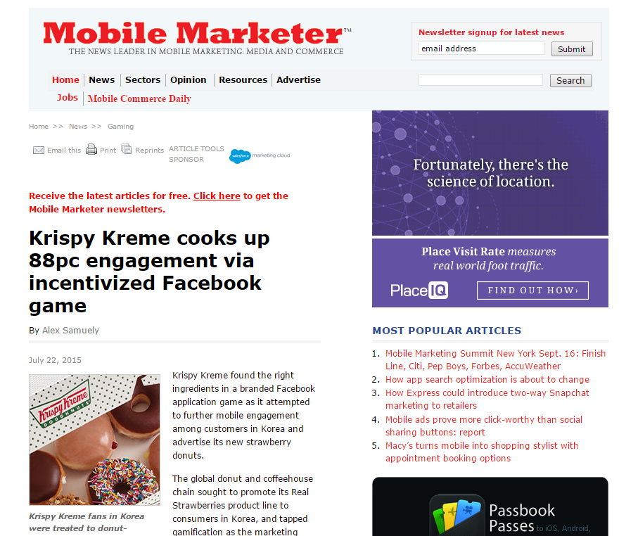 mobile marketing essay