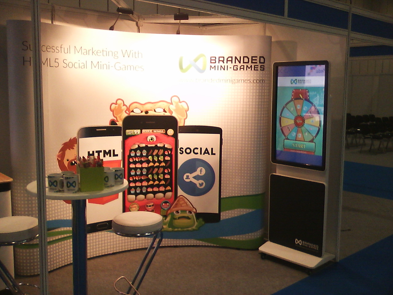 Exhibition Stand Game : How to generate at an exhibition using a mini game