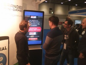 game at trade show
